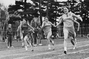 Women's track, 1971.