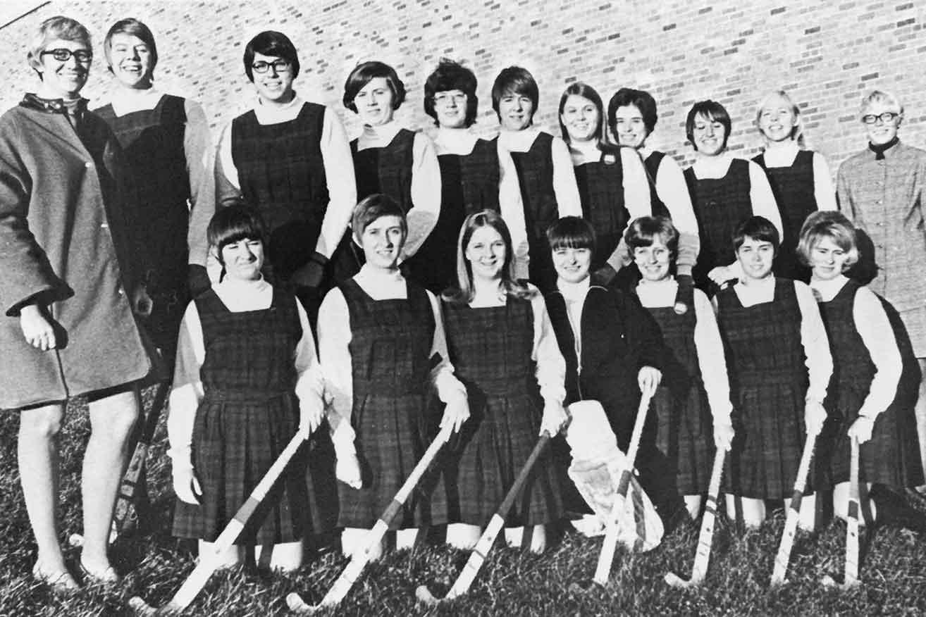 Field hockey, 1971.