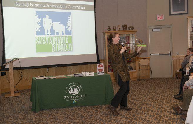 Erika Bailey-Johnson, sustainability coordinator, explains BSU's approach to sustainability.