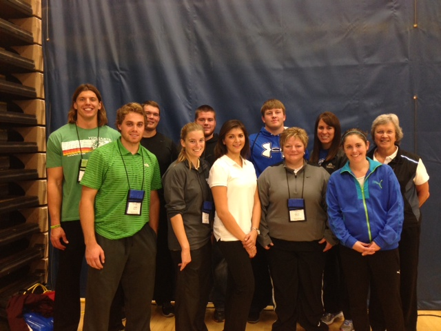 Current HPSH majors and faculty caught up with a few BSU alums at this year's Minnesota Association for Health, Physical Education, Recreation and Dance (MNAHPERD) Fall Conference.