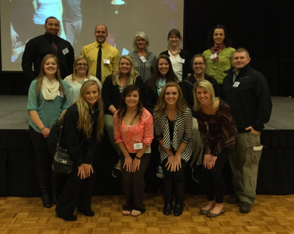 Students and faculty attending the 2015 Spring Tutorial of the ACSM Northland Chapter in St. Cloud, MN on April 10, 2015