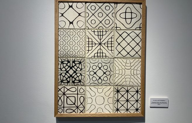"""Varuegated Pattern with White Grout"" by Forrest Lesch-Middelton."