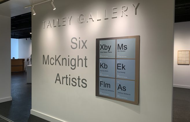 """Six McKnight Artists"" gallery."