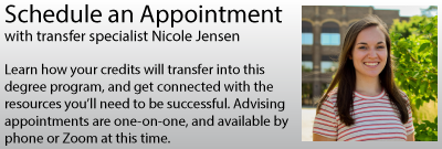 Click to schedule an advising appointment