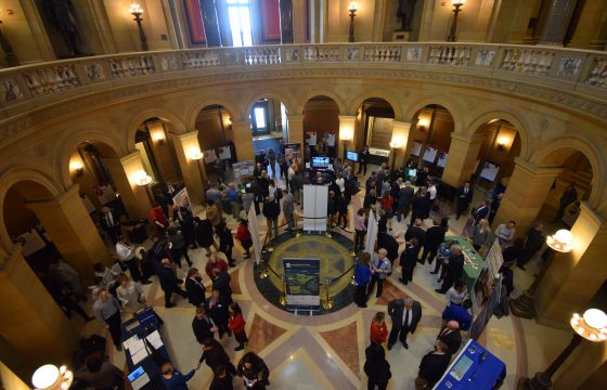 Attendees of Minnesota State Day at the Capitol.