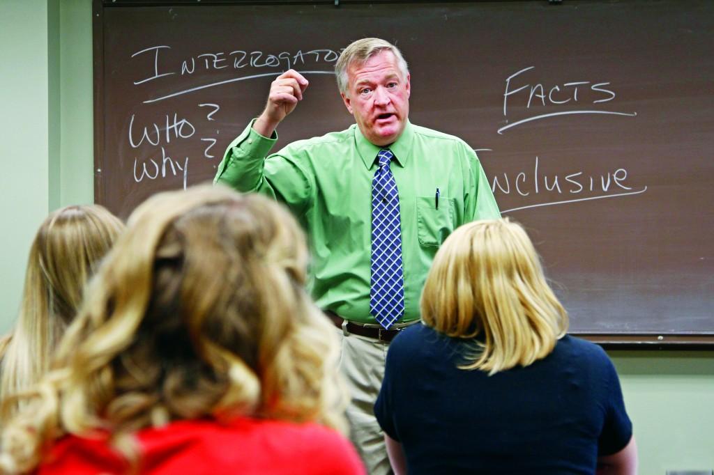 Criminal Justice professor Dr. Mike Herbert.