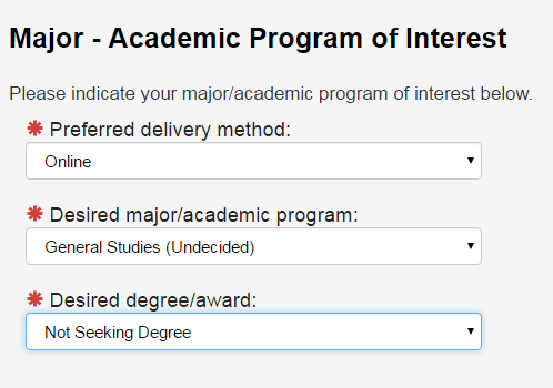fiu non degree seeking student application