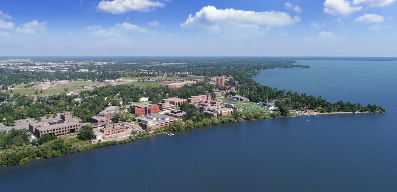 Bemidji State, located on the shores of Lake Bemidji in Minnesota