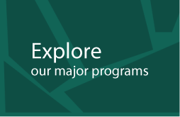 Click button to explore majors and degrees