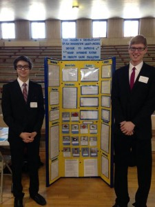 2014 Winners of the Northern MN Regional Science Fair