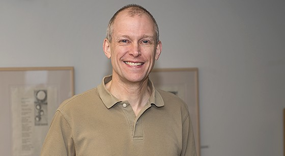 Dr. Marty J. Wolf, professor of mathematics and computer science.