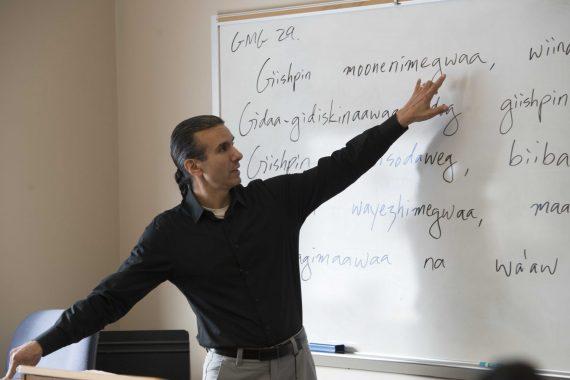 BSU Language Warrior Anton Treuer Works to Preserve the Ojibwe Language