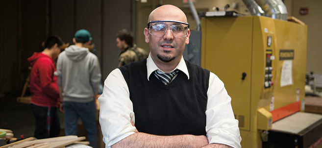 Dr. Mahmoud Al-Odeh, assistant professor of technology, art and design, is organizing a Global Technology Management Conference to be held at Bemidji State University on July 15-17.