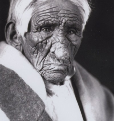 early 20th century native photographs on display in airc