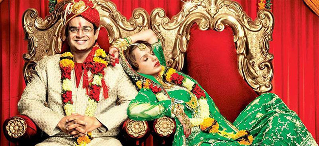 """R. Madhavan (left) and  Kangana Ranaut starred in """"Tanu Weds Manu,"""" a 2011 Bollywood romantic comedy that spawned a 2015 sequel."""