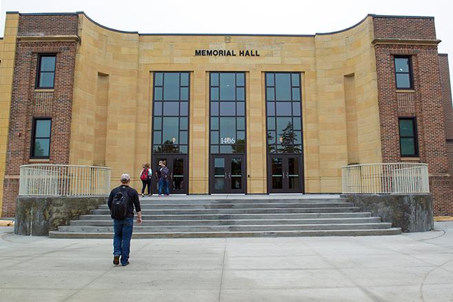Image result for memorial hall bemidji state