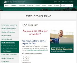TAA_Program___Extended_Learning___Bemidji_State_University