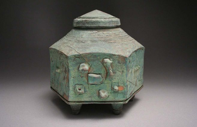 Ted Randall—six-sided vessel