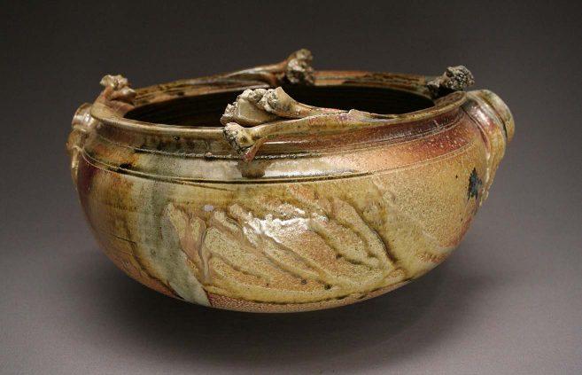 Don Reitz—salt-fired bowl