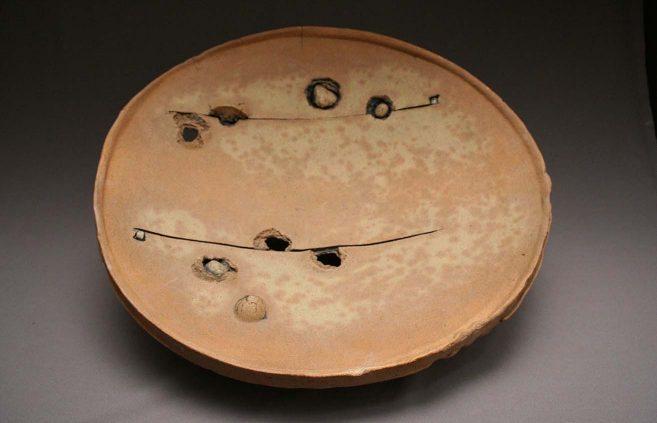 Peter Voulkos—earthenware plate
