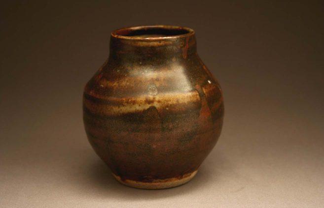 Bernard Leach—stoneware vase
