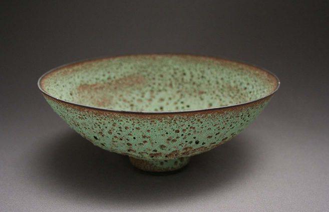 James Lovera—glazed bowl