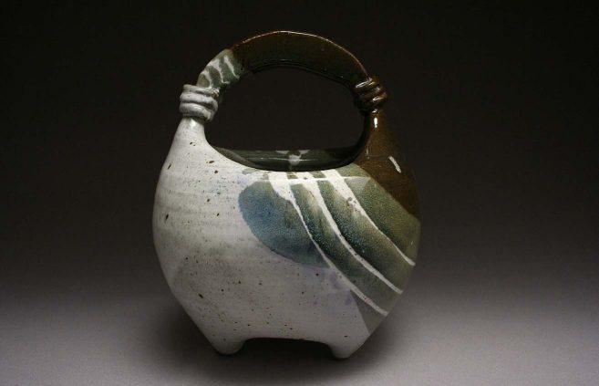 Butch Holden—Stoneware basket