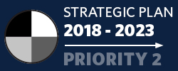 Badge: 2018-23 Strategic Plan: Priority 2