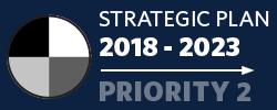 Badge: 2018-23 Strategic Plan: Priority 2