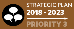Badge: 2018-23 Strategic Plan: Priority 3