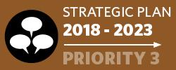 Badge: 2018-23 Strategic Plan: Priority 3