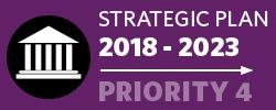 Badge: 2018-23 Strategic Plan: Priority 4