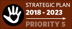 Badge: 2018-23 Strategic Plan: Priority 5