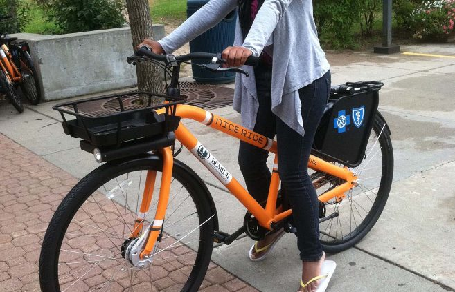 Bemidji State has participated in the Nice Ride bike-sharing program since 2014.