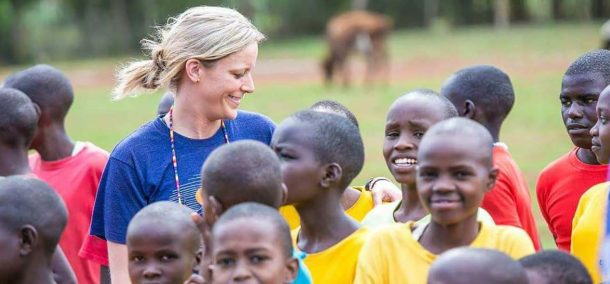 Chelsea DeVille, head women's basketball coach, in May spent two weeks in Kenya as part of a Simba Educational Ministries trip. She and 12 others, mostly coaches and athletes representing universities in Minnesota, Nebraska and the Dakotas, ran sports clinics at St. Jacob's Primary School in Eldoret, Kenya.