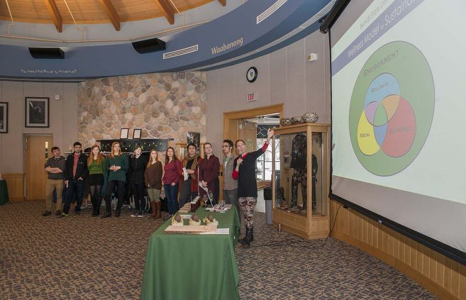 BSU's inaugural Feast of Green, March 26 at the American Indian Resource Center.