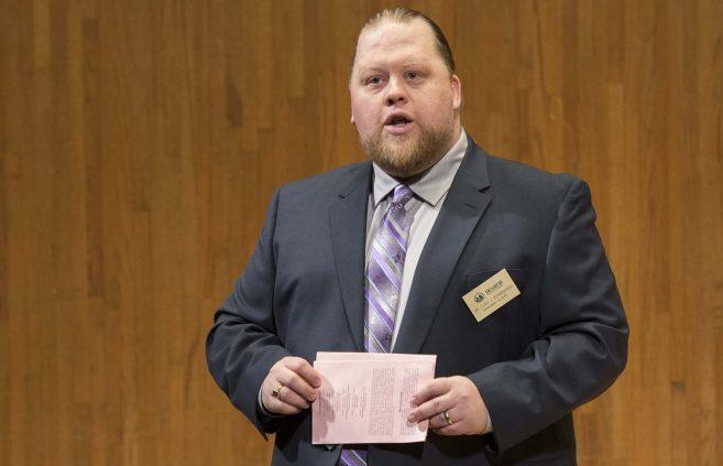 Dr. Cory Renbarger, associate professor of music