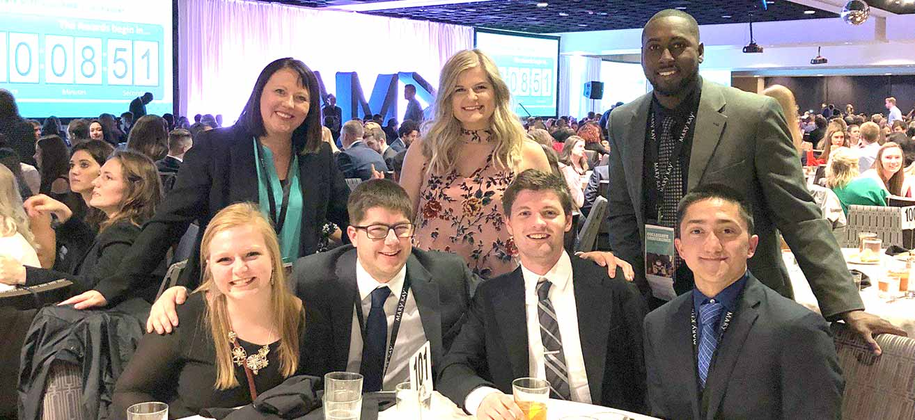 American Marketing Association club attends national convention in New Orleans