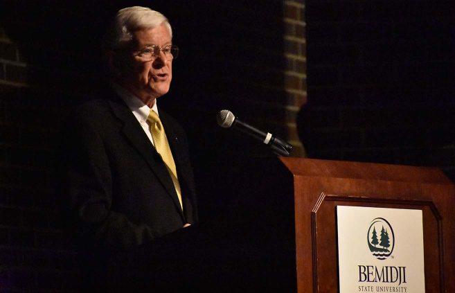 Minnesota State system Trustee Roger Moe.