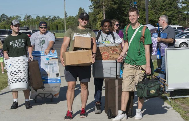 Move-in Day, 2016.