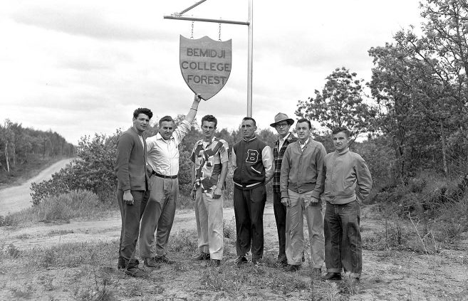 Hobson Memorial Forest, 1949.