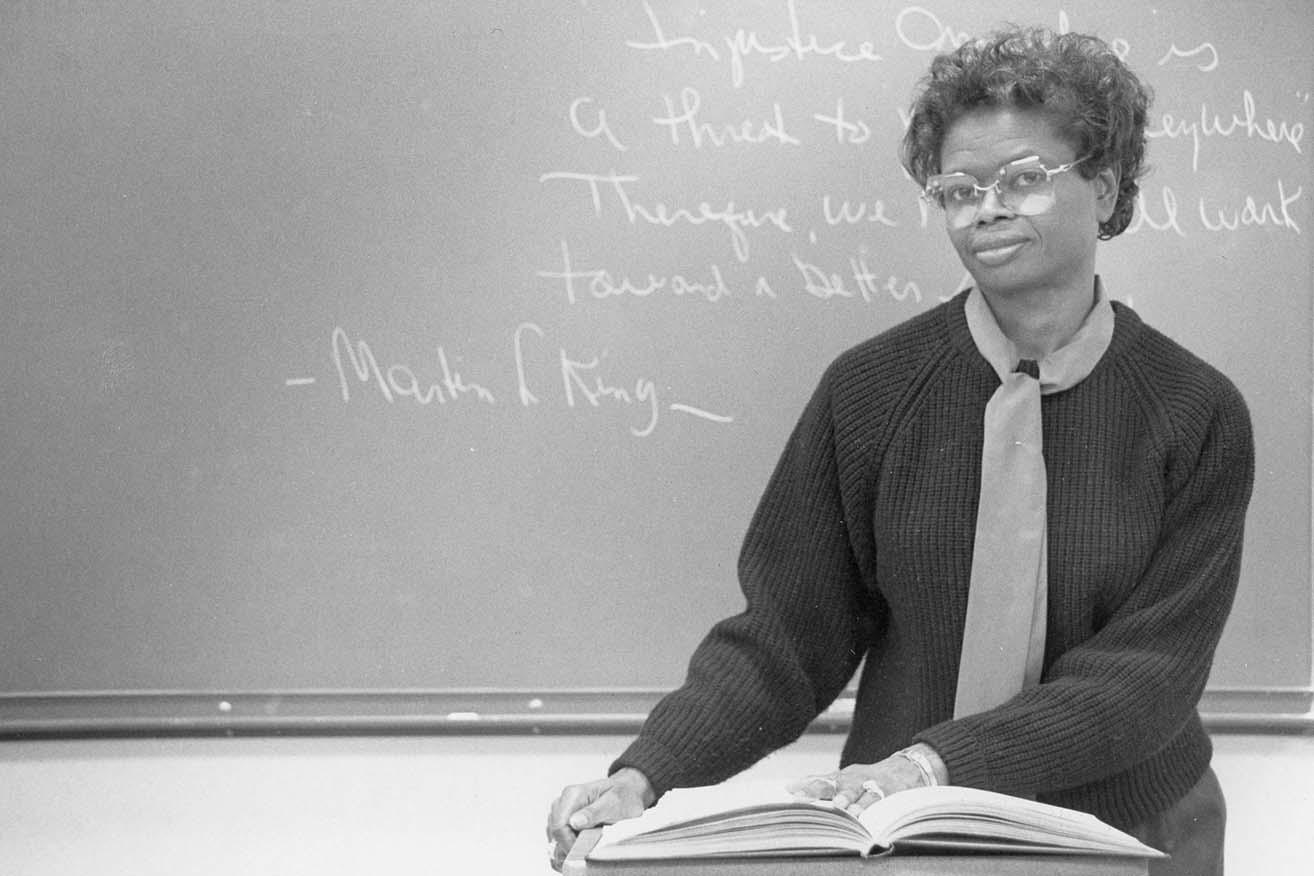 Dr. Annie Henry, professor emerita of professional education, 1987-2007