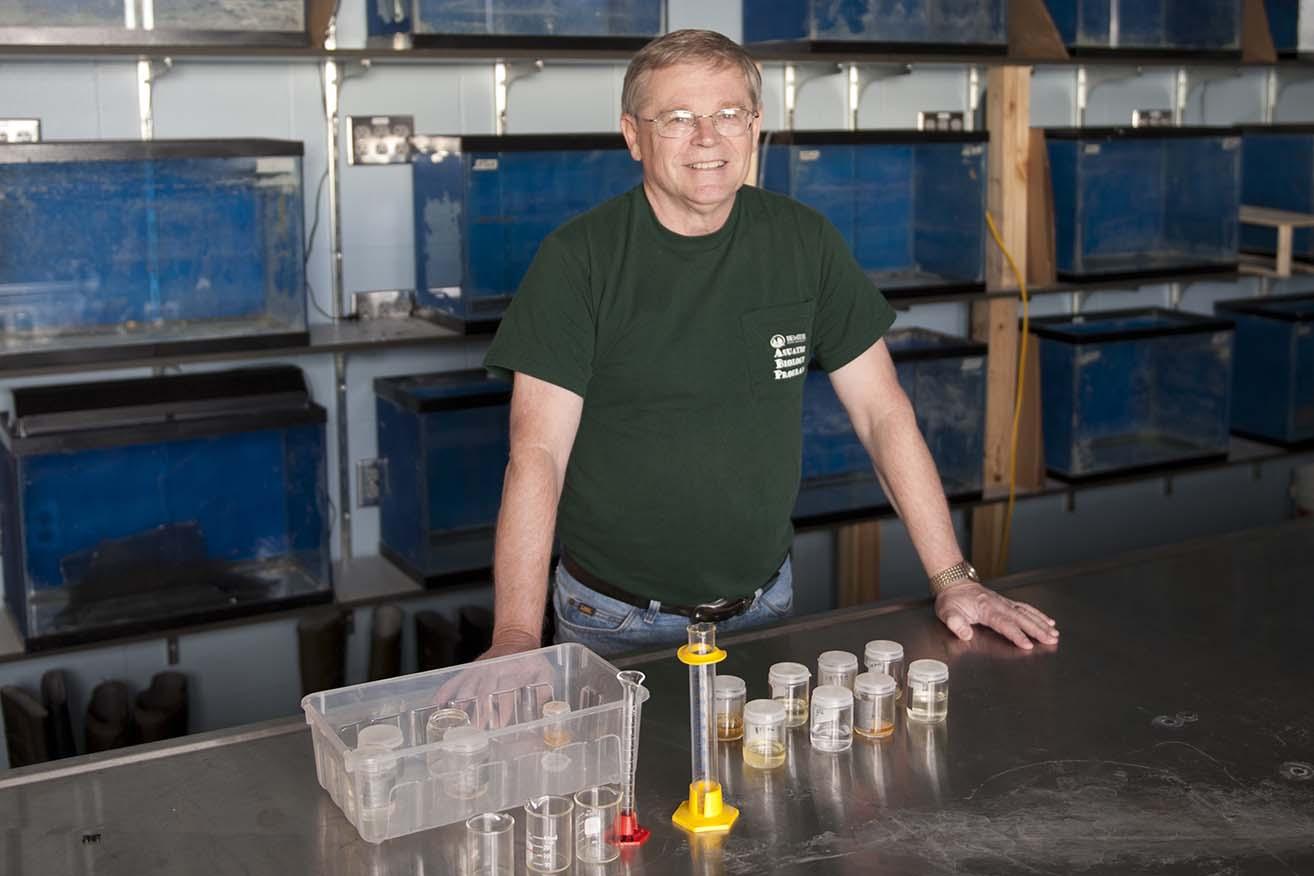 Dr. Don Cloutman, professor emeritus of biology, 1998-2012