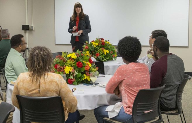 First-Year Faculty Appreciation Luncheon on April 27.
