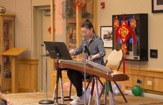 International Student Organization Lunar New Year Celebration on Feb. 16 in the American Indian Resource Center.