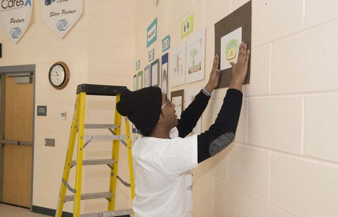 Martin Luther King Jr. Day of Service on Jan. 15 at the Boys & Girls Club of the Bemidji Area.