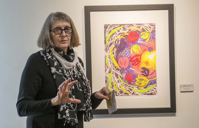 Carol Struve exhibit opening on April 3 in the Talley Gallery.