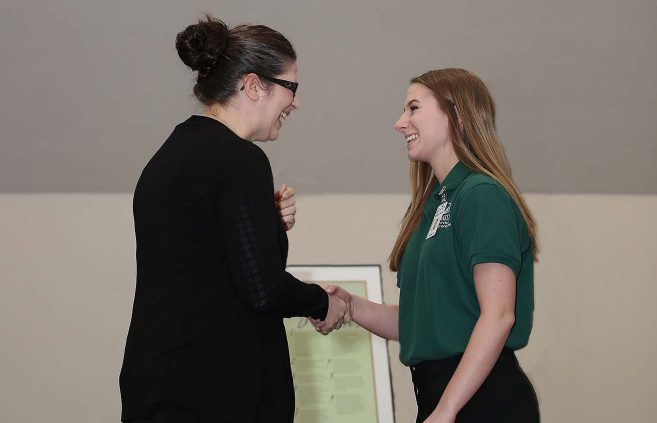 Nursing pinning ceremony on May 3 in the Beaux Arts Ballroom.
