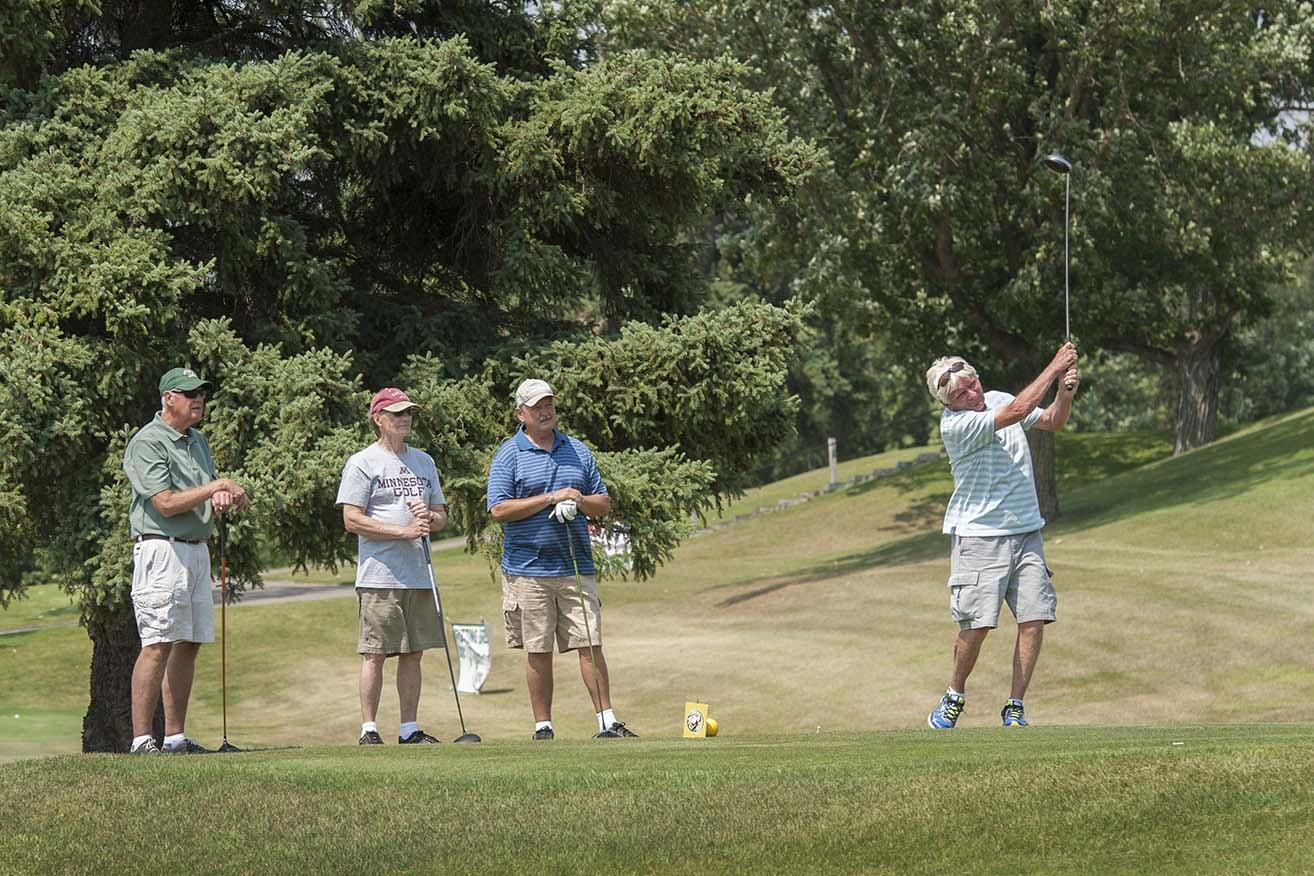 2017 Galen Nagel golf tournament at Bemidji Town & Country Club