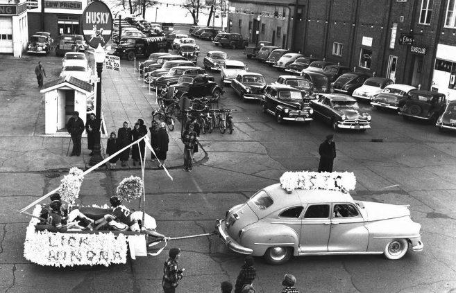 Parade, 1950s.